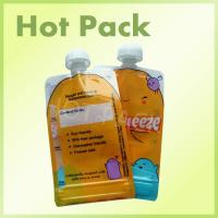 China Plastic Laminated Baby Food Drink Spout Pouches Stand Up Juice Pouches on sale