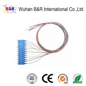 Quality 1.5M SC SM Fiber Optic Pigtail For Telecom for sale
