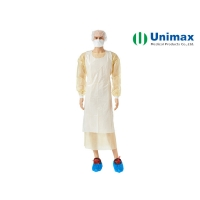 Quality Unimax Medical LDPE Blue Plastic Aprons CE FDA for sale