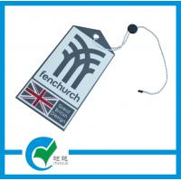 Quality Cardboard Paper HangTags Printing for Garments with Pantone Color CMYK Printed for sale