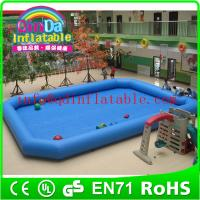 China Giant inflatable pools swimming pool play equipment inflatable pools for adults on sale