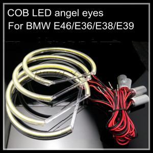 Quality COB LED angel eyes for BMW LED headlight halo ring E38 E36 E39 E46 4*131mm for sale