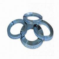 Buy cheap Perforated Bands, Available in Customized Width from wholesalers