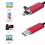 EchoFlove Endoscope HD USB Android Endoscopio Camera 2IN1 Android Borescope USB
