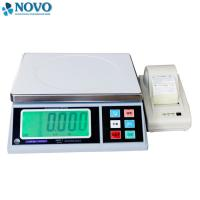 Quality white electronic digital weighing scale / high precision weighing scales for sale