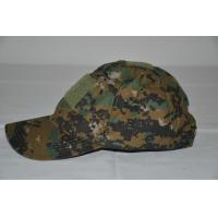 Quality 2014 Woodland camo Baseball Cap with velcro/Military Headwear for sale