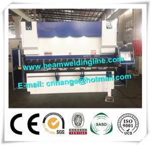 China Heavy Duty 4 Axis CNC Press Brake Machine , 400 Ton Sheet Bending Machine on sale