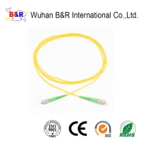 Quality Single Mode 0.9mm 2m Fiber Optic Patch Cord for sale