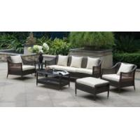 Quality Synthetic Rattan Outdoor Garden Furniture Patio Sofa for sale