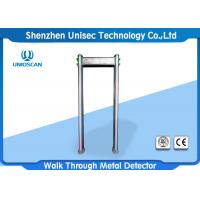 Quality IP65 PVC Material Pass Through Metal Detector Door Frame High Adjustable Sensitivity For Security Check for sale