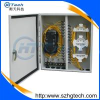 Quality Outdoor 72Core Wall Mount Fiber Optic Distribution Box for sale