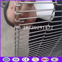 Quality Chocolate enrobing Conveyor Metal Mesh Belt made in China for sale
