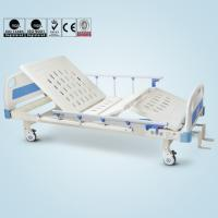 China Semi Electric Hospital Beds For Home Use Backrest Kneerest Lifting Function on sale
