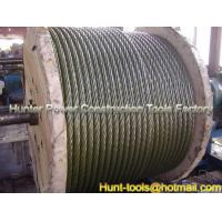 Quality Heavy Duty Anti-Twist Galvanised Steel Pulling Rope for sale