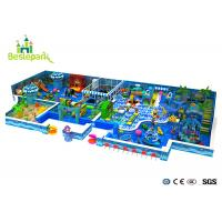 Kids Play Equipment Large Indoor Playground 2CM Thickness With Protective Web