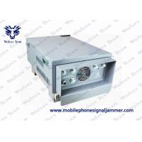Quality Adjustable Waterproof Outdoor Signal Jammer High Power For Military Units And Prison for sale