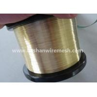 China Bashan Soft EDM Brass Wire 0.1-0.3mm For EDM Wire Cut Machine on sale