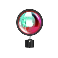 Quality IR Remote Aluminum Alloy Sunset Projector Lamp Halo Lamp for sale