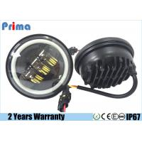 China 4.5 Inch Jeep Jk Led Headlights , Angel Eye 30W CREE Motorcycle Led Headlight on sale