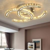 Quality Chanel Lampshade Crystal Ceiling Lights For Indoor home Lightiing (WH-CA-49) for sale