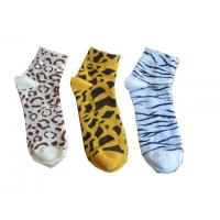 Quality Fashion 22 * 12cm / 24 * 12cm, 144N Needle Colorful Lady Kintted Cotton Short Ankle Sock for sale