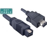 Quality Insulated Firewire Camera Cable 1394A 6 Pin With Latches To 180 Degree 1394B 9pin for sale