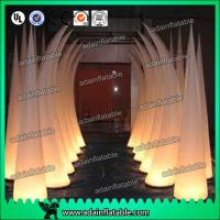 Quality 3M 210T Polyester Cloth Wedding Event Decoration Inflatable Tusks for sale