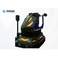 Quality Amusement Park Science Fiction VR Racing Simulator With Dynamic Platform for sale