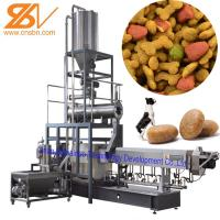 Quality Pet Food Extruder Machine Puffing Snack / Dog Food Processing Plant for sale