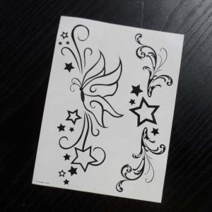 China Black wristbands tattoo, black jewelry temporary tattoo, black flower temporary tattoo on sale