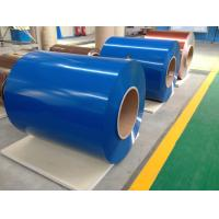 Quality Aluminium Foil Paper Color Coated Zinc Steel Coil With Corrosion Resistance for sale