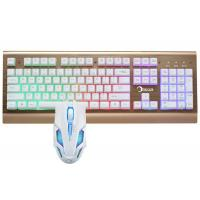 China Led Gaming Keyboard And Mouse Combo For Windows 2000 / XP / VISTA / 7 / 8 on sale