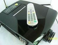 Quality used in game, hotel, bars, karaoke room, disco room, family Video Projector for sale
