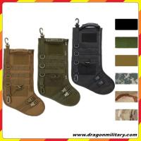 Quality Hot sale new Christmas Tactical Stocking with molle for sale
