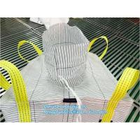 China circular big bag pp woven bag for cement,Best popular new pp woven jumbo bulk big bag for agriculture fertilizer, bageas on sale