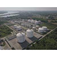 Quality 25KPa LNG Regasification Terminal Cryogenic Storage Tanks Dragon Crown Second Phase for sale