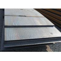 Quality SS400 Tear Drop Checker Plate Steel Building Road Plate Thickness 1.5 - 50mm for sale