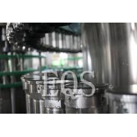 18000BPH 304 Stainless Steel Beer Bottle Filling Machine With Washer / Filler / Capper