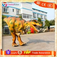 China Attracts People!!Walking with vivid lifelike adult Artificial Realistic Dinosaur Costume For Sale on sale