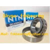 Quality NTN Brand Steel Cage Tapered Rolling Bearing Chrome / Carbon / Stainless Steel for sale
