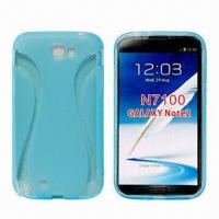 Quality Cellphone Cases for Samsung N7100/Galaxy Note II 2, Made of TPU, Thin Waists Hard Case for sale