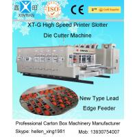 China Automatic Carton Box Making Machine With Printing / Slotting And Die Cutting Function on sale