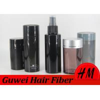 Buy Natural Cotton Hair Fibers Black Color , Keratin Hair Filler For Men No Itch at wholesale prices