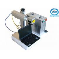Quality 20w 30w 50w Raycus Fiber Laser Marking Machine For Metals , High Speed for sale