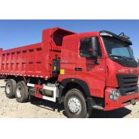 Quality Professional 20 - 30 Ton Dump Truck  SINOTRUK HOWO A7 6x4 Dump Truck With 380HP for sale