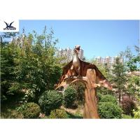 China Pterosaur Life Size Outdoor Dinosaur Display / Outside Realistic Garden Animals on sale