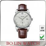 一流のダイヤルの時間の保存を用いる防水ステンレス鋼のブレスレットの腕時計
