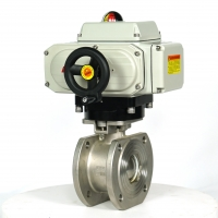 Quality IP67 Compact Ball Valve 10W Quick Open Electric Actuator for sale
