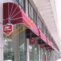 China Outdoor Manual Retractable Door Entrance Dutch Awning Window Canopy on sale
