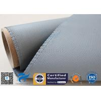 Buy cheap 1050gsm silicone coated fiberglass cloth For Railway Engine Sparks Protection from wholesalers